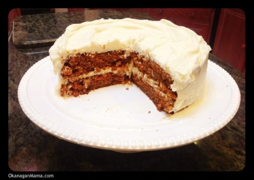Ugly carrot cake with cream cheese frosting - super moist & easy to ...