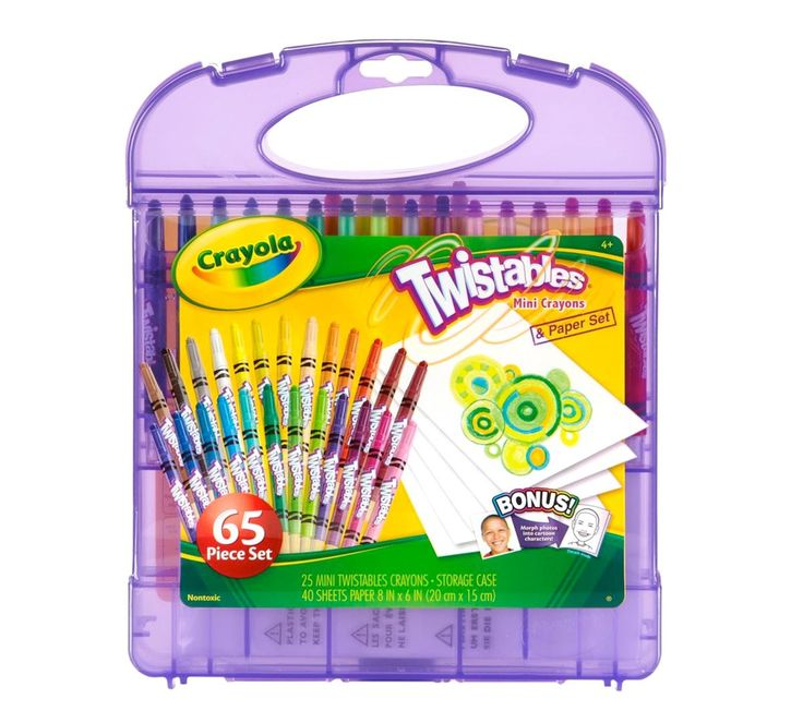 Hardcase Kit - Twistables Mini Crayons - Crayola