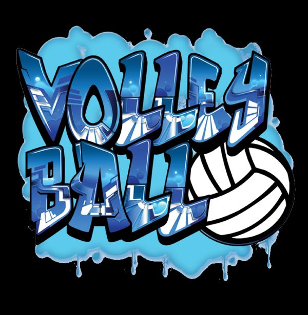 Love This : Graffiti   Volleyball T Shirt By VictorySportsGraphics