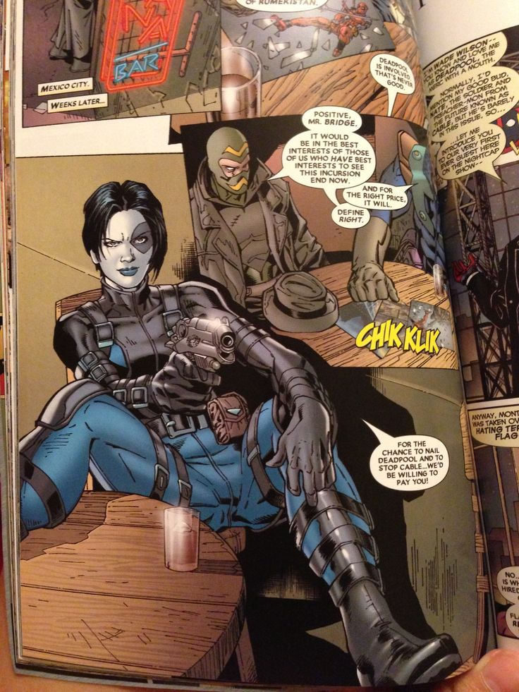 Domino from Cable & Deadpool | Domino | Pinterest | Best ...