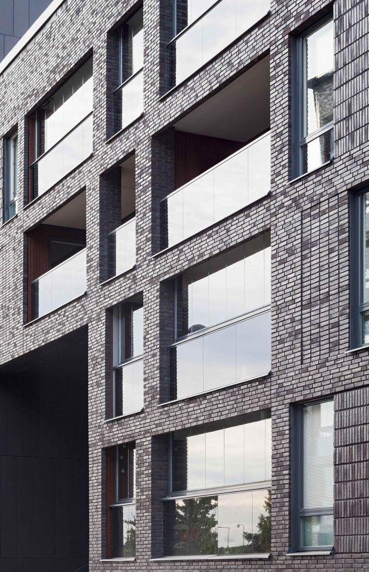 Kjellander Sjöberg - Maja Gräddnos - Detail facade