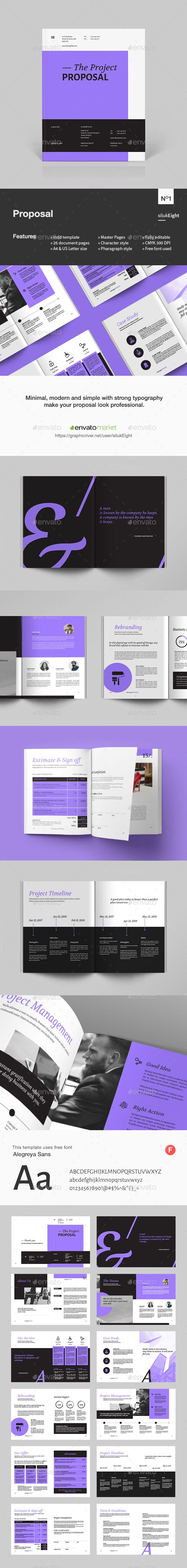 #Proposal - Proposals & #Invoices Stationery Download here: https://graphicriver.net/item/proposal/20009566?ref=alena994