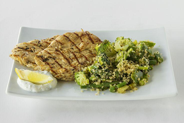 Lemon Herb, Roasted Organic Chicken Breast Fillets CRAFT Restaurant Parkhurst