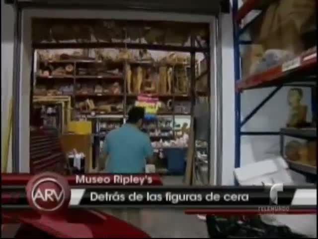 Así Hacen Las Figuras De Ceras De Los Famosos En El Museo De Ripley's #Video