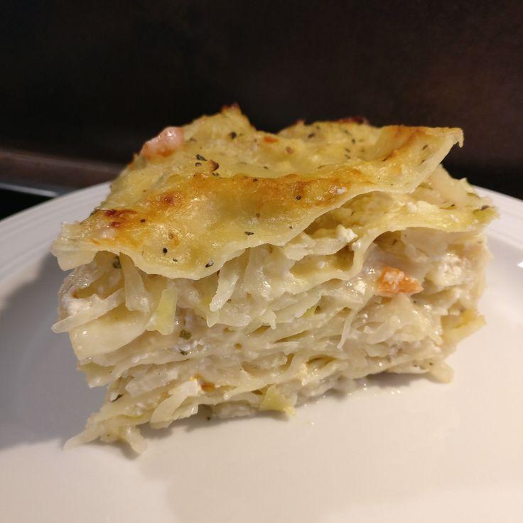 Weißkohl-Lasagne // Cabbage Lasagna
