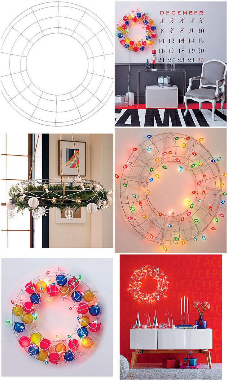 1000 Ideas About Wire Wreath Frame On Pinterest Diy