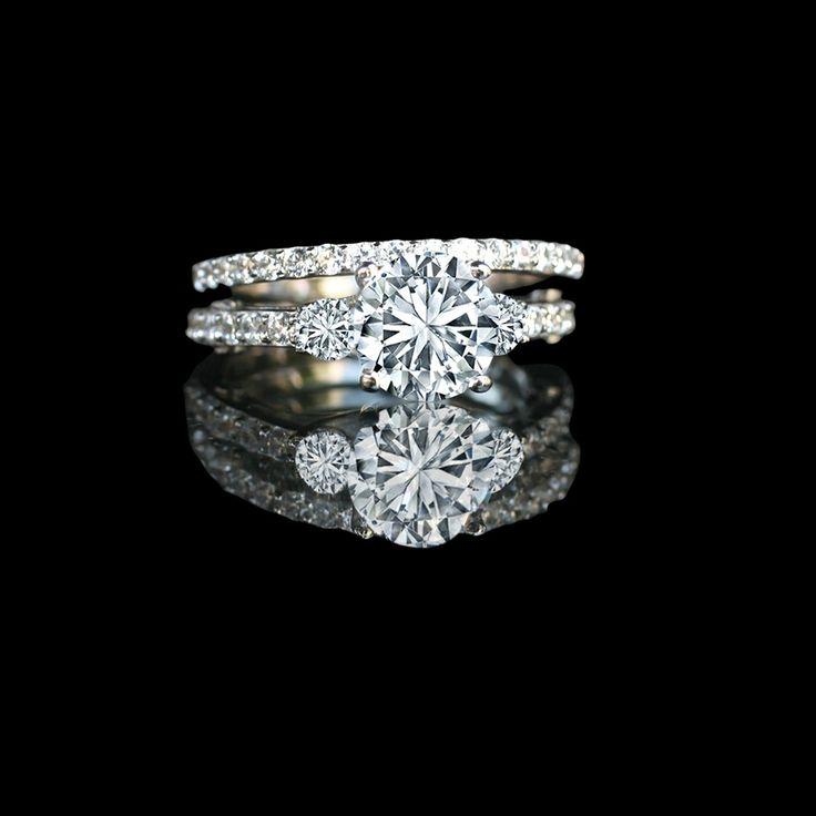 ct round diamond simulant diamond veneer