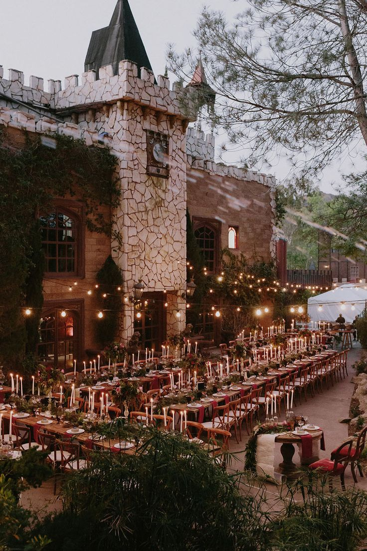 A Glam Harry Potter Wedding at Hollywood Castle | Green Wedding Shoes | Weddings, Fashion, Lifestyle + Trave
