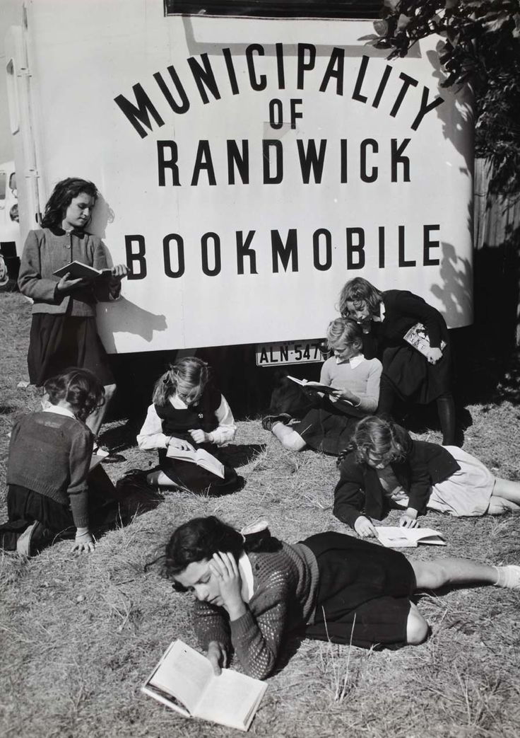 The late, the great, Municipality of Randwick Bookmobile :)