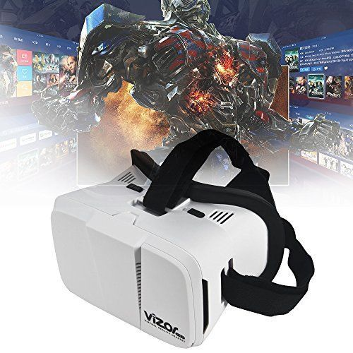 3D Vr Virtual Reality Headset Smart Glass Box for Android iPhone and Other #techrc