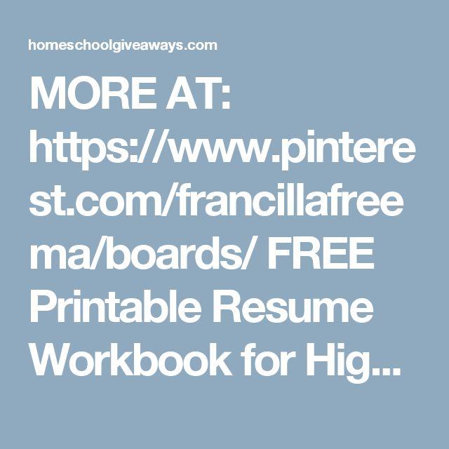 25 unique free printable resume ideas on pinterest resume