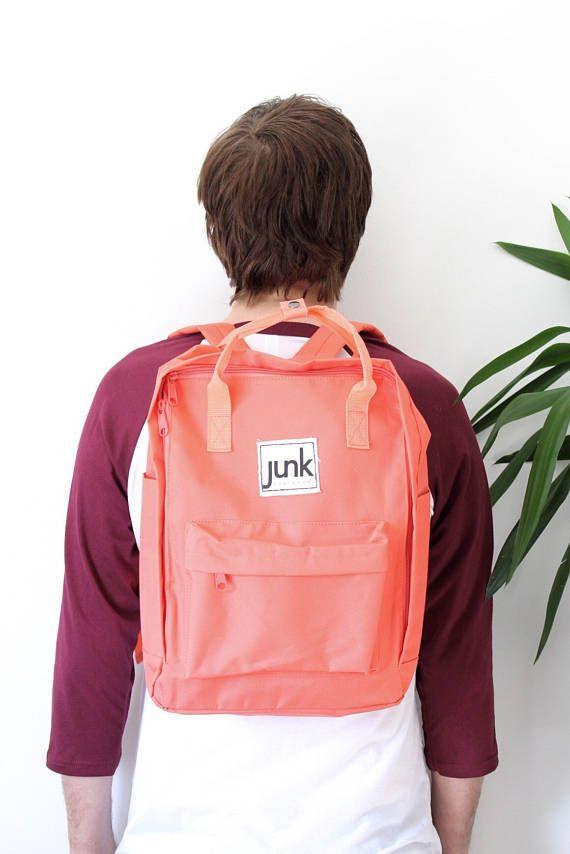 Junk Boardwear UNISEX urban rucksack in Coral  backpack