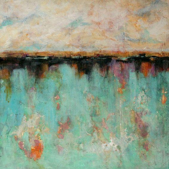 Original Abstract Painting Mixed Media Art от dianamulder на Etsy