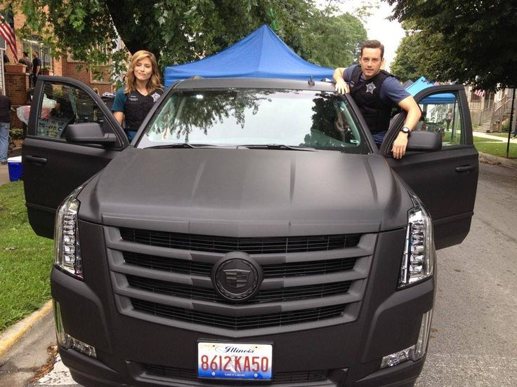 Blacked out Escalade. Really like this look, the matte