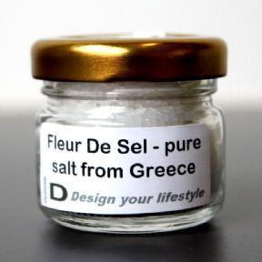 Fleur de Sel - Pure Salt from Greece £1.50 for 25 grams - 72 euros a kilo!
