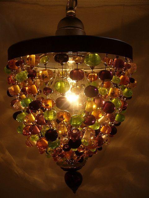 5A Loupiote ambre amethyste et verte en verre de Murano   Flickr: partage de photos!