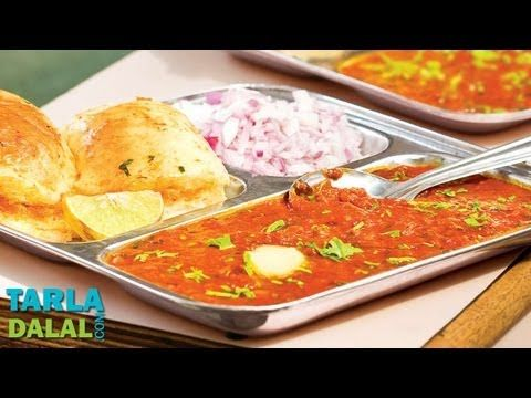 Pav Bhaji (Mumbai Pav Bhaji Recipe) Video by Tarla Dalal | Hindi Recipe Video | Indian and International Cooking Videos | Tarladalal.com