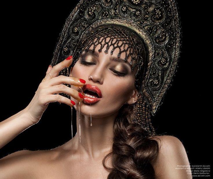Кокошник haute couture. Обсуждение на LiveInternet - Российский Сервис Онлайн-Дневников