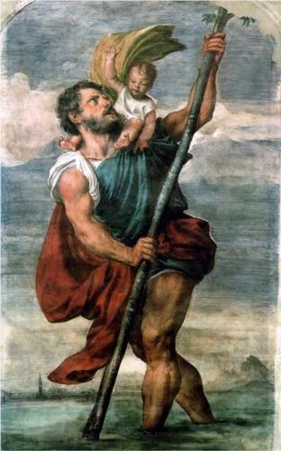 Saint Christopher - Titian