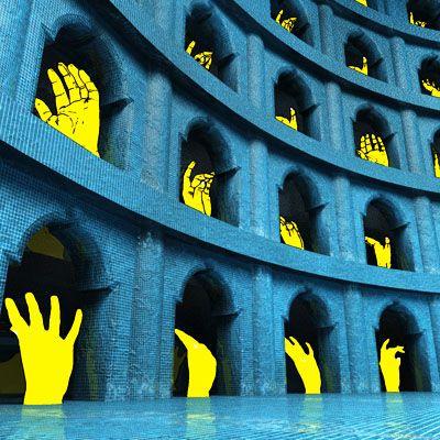 The blue arch #MartijnKoudijs #Onlyonemart
