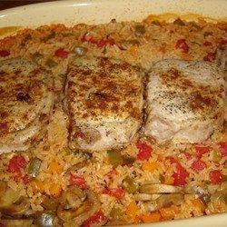 Scalloped Potatoes and Pork Chops Recipe - Allrecipes.com