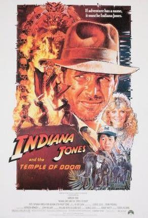 Indiana Jones Temple Doom Movie Poster 11x17 Mini Poster