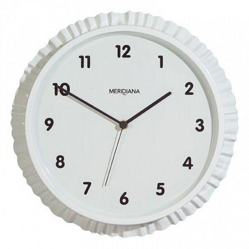 """Часы настенные """"Пробка"""", кварцевые, белые, диаметр 25 см"""
