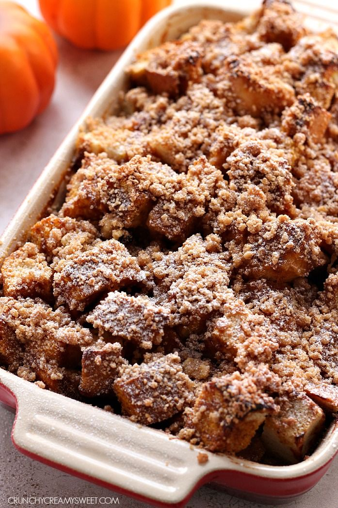 ... | Eggnog French Toast, French Toast Bake and Pumpkin French Toast