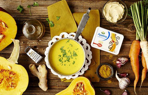 Zupa Krem z Dyni z Apetiną India