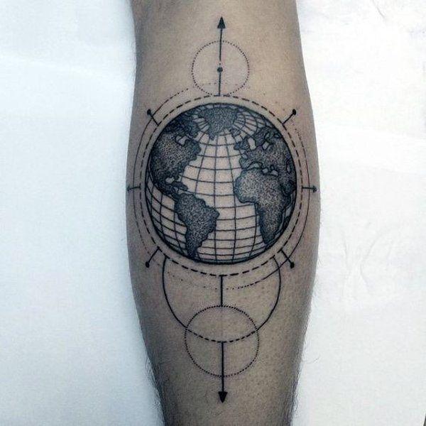 40 besten tattoo globus globe designs bilder auf. Black Bedroom Furniture Sets. Home Design Ideas