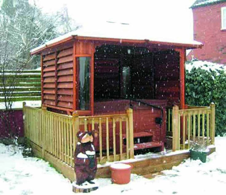 13 Best Hot Tub Gazebos And Covers Images On Pinterest