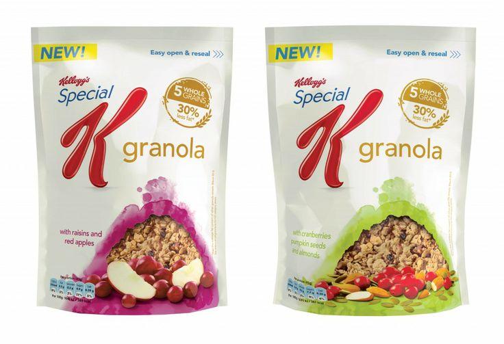 Special K Granolas - 12 Packs
