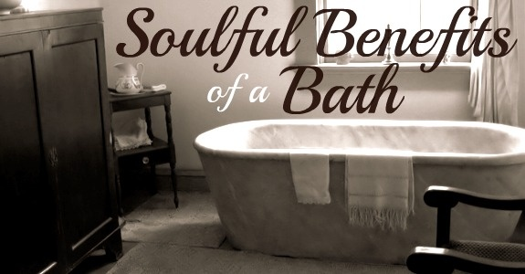 The Soulful Benefits of a Bath