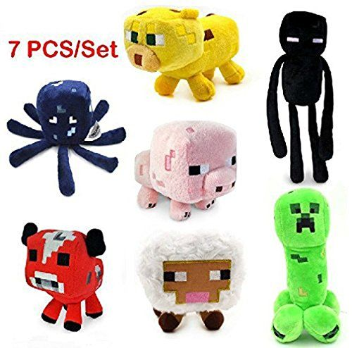 7pcs/set Minecraft Enderman Creeper Mooshroom Pig Cat Sheep Squid Game Overwold Soft Plush Toys Kit Stuffed Aminal Dolls Be oneself  http://www.amazon.com/gp/product/B00PIHMIWI/ref=as_li_qf_sp_asin_il_tl?ie=UTF8&camp=1789&creative=9325&creativeASIN=B00PIHMIWI&linkCode=as2&tag=acenorris09-20&linkId=FY3GKV6S2PXAHSHH