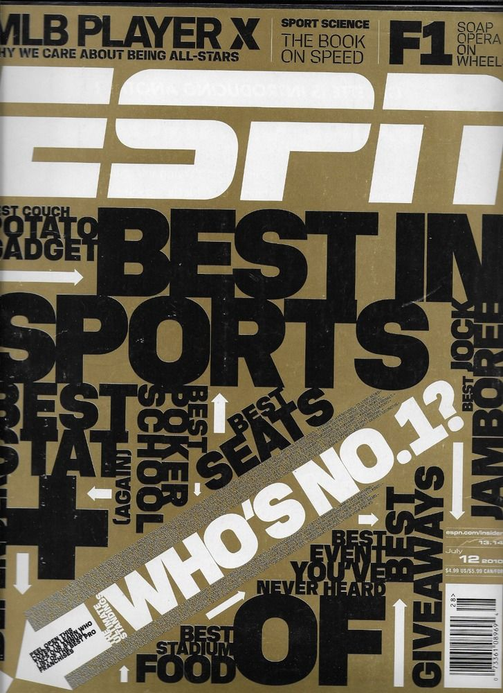 ESPN magazine Best in sports Darrelle Revis Dwight  Freeney Celebrity golf