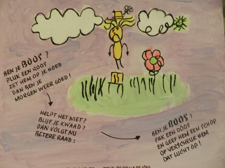 Laat kinderen in contact komen met poëzie. Laat hen bijvoorbeeld een gedicht schrijven bij een schilderij, of omgekeerd.