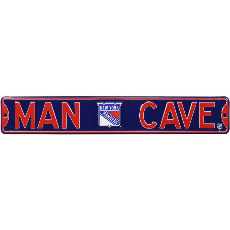 Authentic Street Signs New York Rangers 'Man Cave' Street Sign, Team