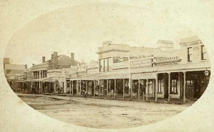Ford St,Beechworth,Victoria in 1869.