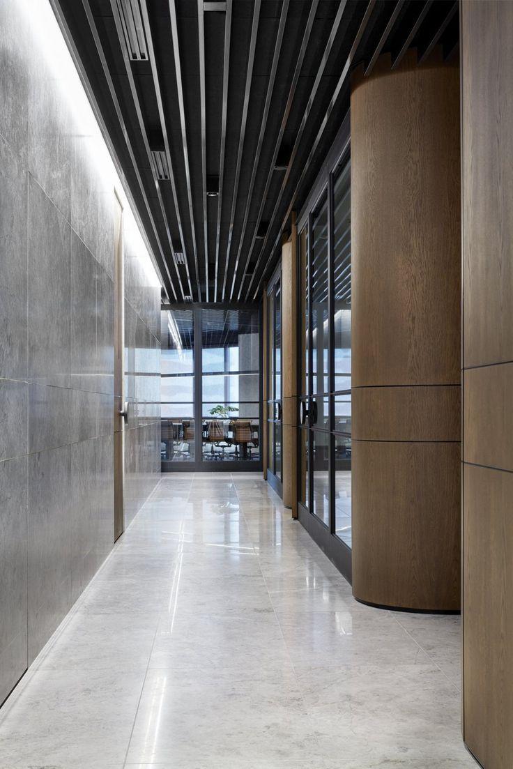 Black Ceiling Office Design Moderndesign Ceiling Www Ironageoffice 黒の 天井 オフィスインテリア 建築オフィス