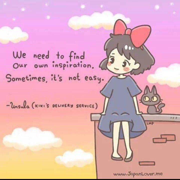 Kiki's delivery service quote hayao Miyazaki Studio