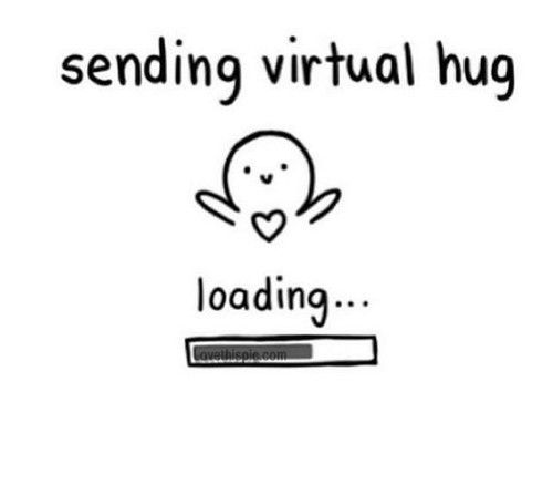 Sending A Virtual Hug Pictures, Photos, and Images for Facebook, Tumblr, Pinterest, and Twitter