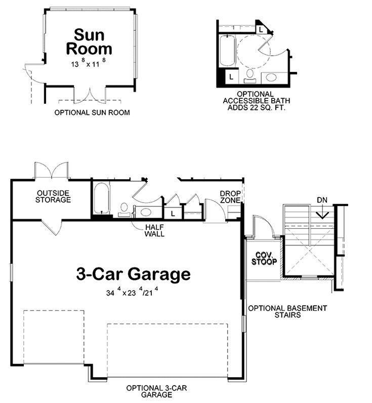 Bedroomhouse Plans