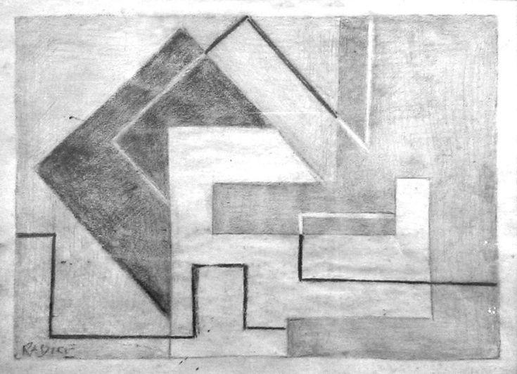 Bozzetto per affresco, 1948 - Collezione privata - Mario Radice ...