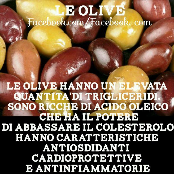Olive e i suoi benefici
