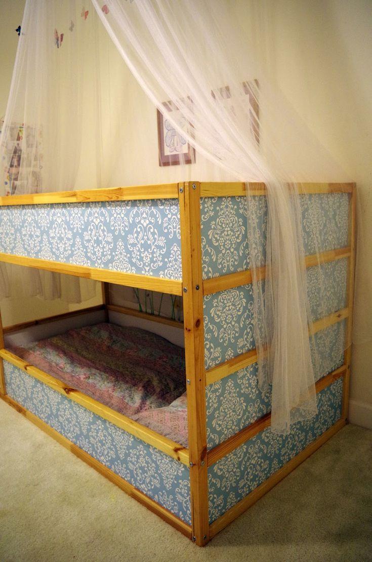 Kids metal loft bed with slide  Kiley Adkins kileyadkins on Pinterest