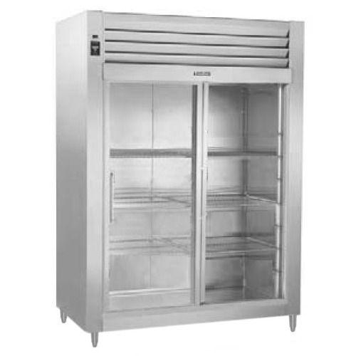 Traulsen rht232wut fsl stainless steel 51 6 cu ft two for 5 ft sliding glass door