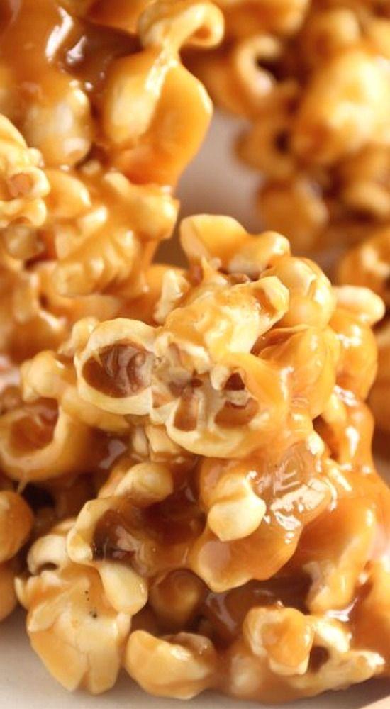 Salted Caramel Popcorn.                                                                                                                                                                                 More
