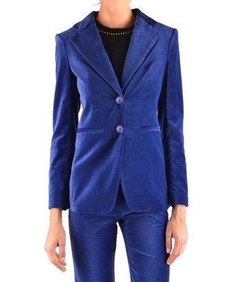 11ea137abf PINKO PINKO WOMEN'S 1G13JR7082G55 BLUE COTTON BLAZER. #pinko #cloth ...