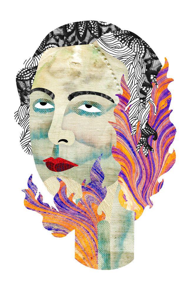 Flame Bust - Sarah Trahan
