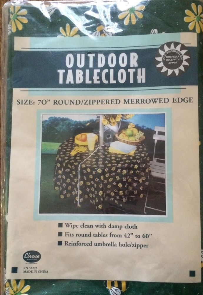 1000 Ideas About Outdoor Tablecloth On Pinterest Large